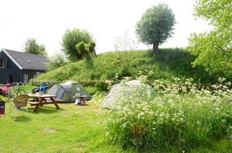 Natuur kampeerterrein